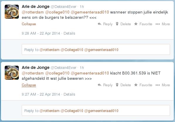 TweetsNaarRotterdam7April